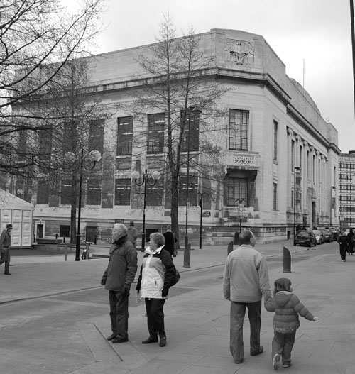 Central library 2008