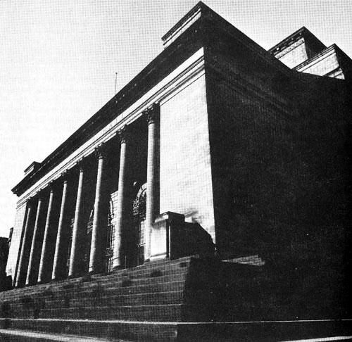 City hall 1970s