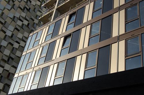 City lofts St Paul's tower cladding