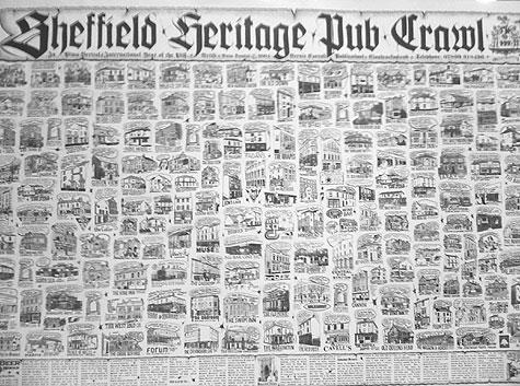 Sheffield heritage pub crawl