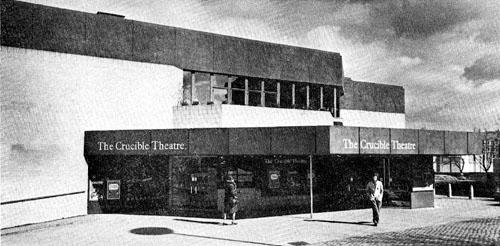 Crucible theatre, 1970