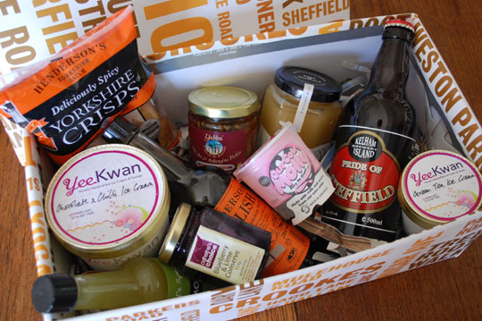 Sheffield food box