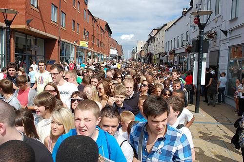 Devonshire street queues
