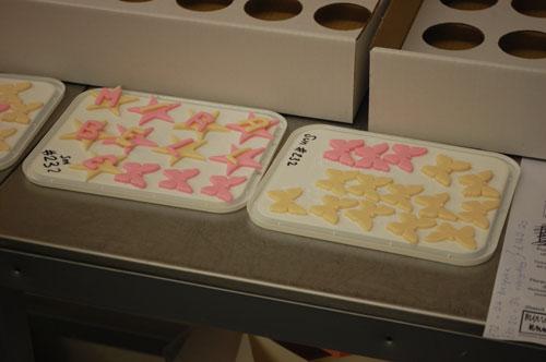 Personalised cupcake order
