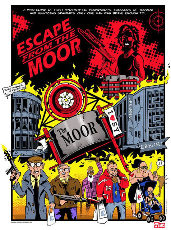 Escape From the Moor by Jim Connolly