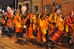 Samba band on London road - Sharrow lantern festival