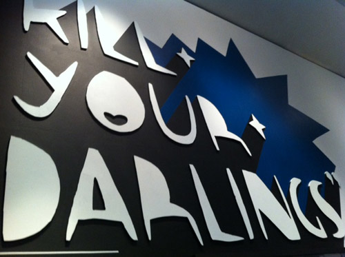 Kill your darlings Kid acne exhibition
