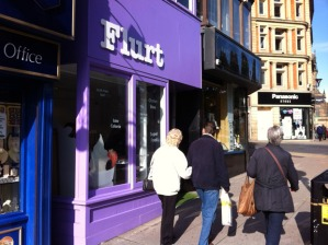 Flurt frozen yoghurt in Sheffield