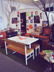 1970s caravan in TNB Indie Arcade